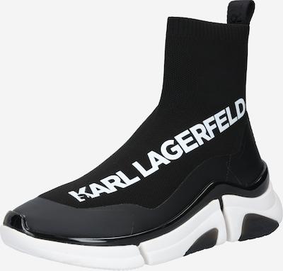 Sneaker înalt 'Venture' Karl Lagerfeld pe negru / alb, Vizualizare produs