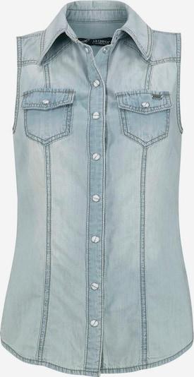 ARIZONA Jeanshemd in blue denim, Produktansicht