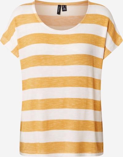 VERO MODA T-Shirt in hellorange / weiß, Produktansicht