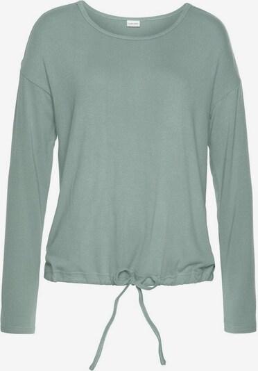 LASCANA Pajama shirt in Green, Item view