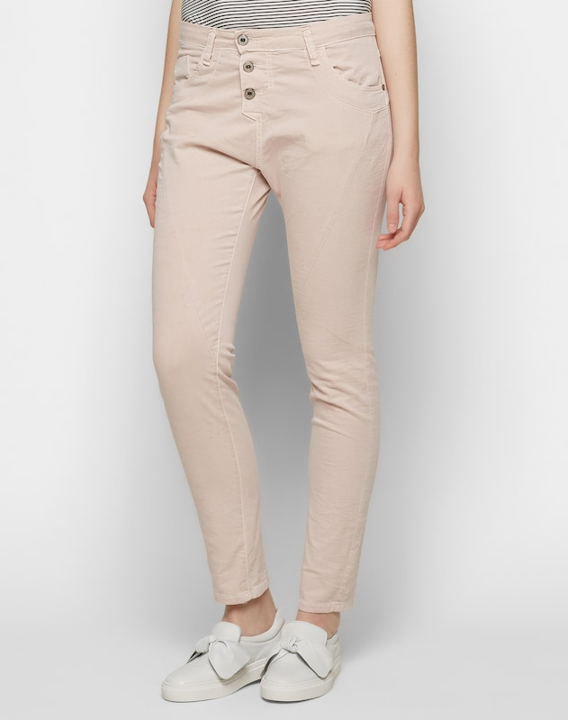 PLEASE 'Boyfriend' Hose in Jeans-Optik
