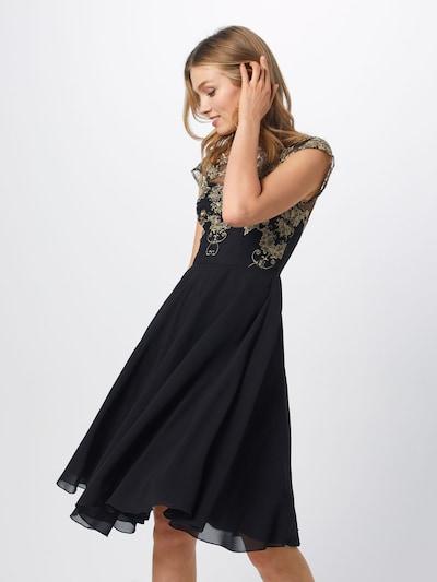 Chi Chi London Sukienka koktajlowa 'Domenica' w kolorze czarnym, Podgląd na modelu(-ce)