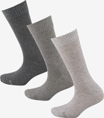 SKECHERS Socken in grau / hellgrau / dunkelgrau, Produktansicht