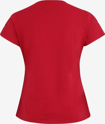 Urban Classics Curvy Shirt in de kleur Bourgogne: Achteraanzicht