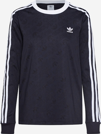 ADIDAS ORIGINALS Shirt in schwarz: Frontalansicht