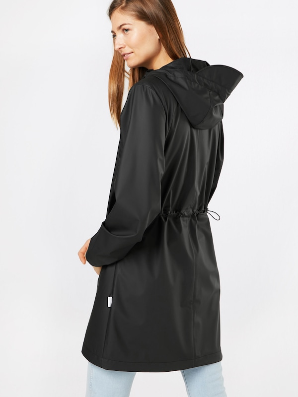 Rains En En Manteau Rains Noir Fonctionnel Fonctionnel Manteau Manteau Rains Fonctionnel Noir En fg76yYb