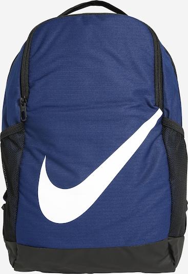 kék / fekete / fehér Nike Sportswear Hátizsák 'Brasilia', Termék nézet