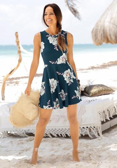 BEACH TIME Sommerkleid in dunkelblau, Modelansicht