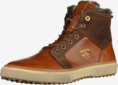 PANTOFOLA D'ORO Sneaker in braun / rostbraun, Produktansicht