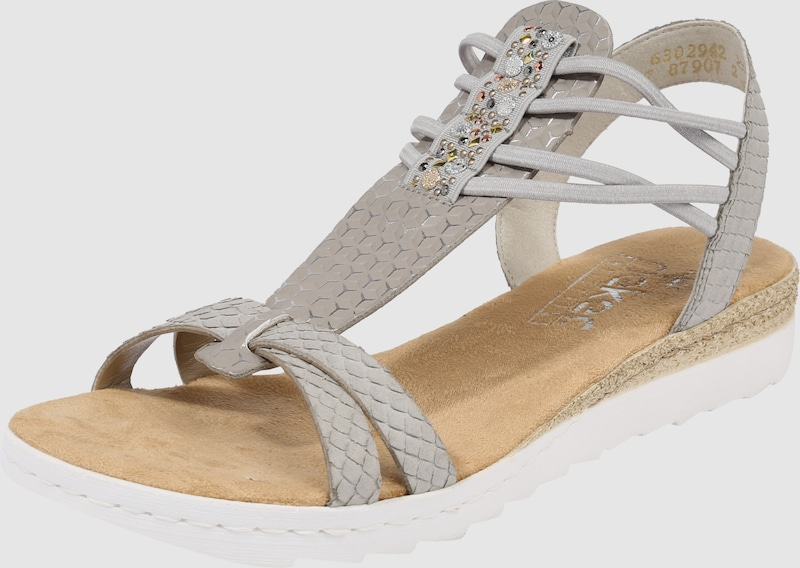 Haltbare Mode billige Schuhe RIEKER Gut   Sandale 'Schimmer' Schuhe Gut RIEKER getragene Schuhe 5dc20a