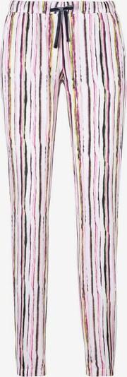 VIVANCE Pyjamahose in navy / gelb / lila / pink / weiß, Produktansicht