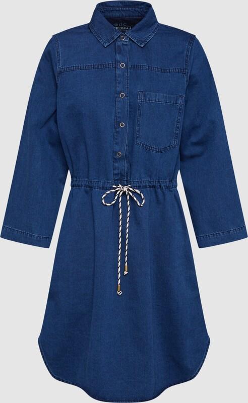 EDC BY ESPRIT Kleid in Blau denim  Großer Rabatt