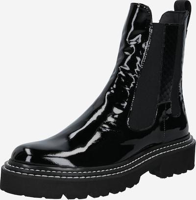 Donna Carolina Chelsea boots in de kleur Zwart, Productweergave