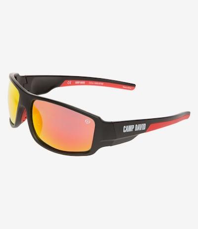 CAMP DAVID Sonnenbrille in orangerot / schwarz, Produktansicht