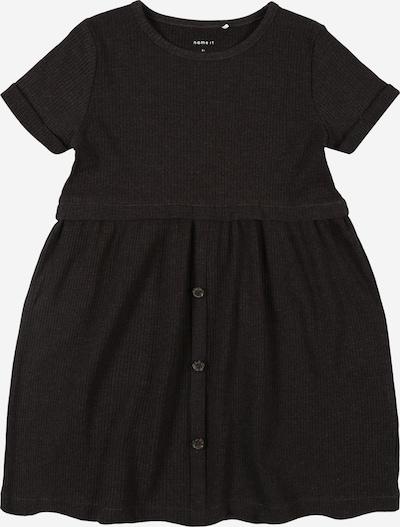 NAME IT Kleid 'RIBSA' in anthrazit, Produktansicht