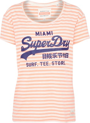 Superdry Shirt 'VINTAGE LOGO STRIPE ENTRY'