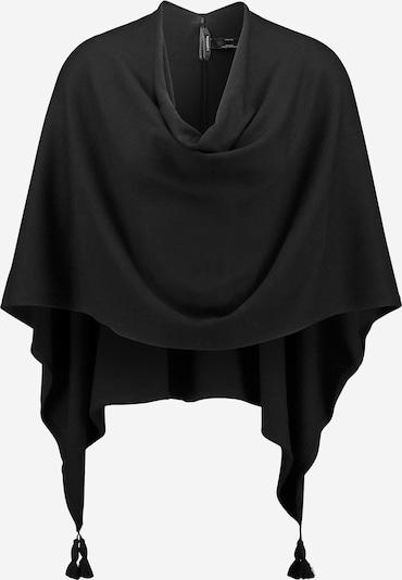 COMMA Poncho in schwarz, Produktansicht