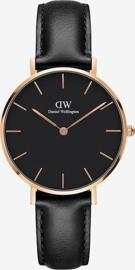 Daniel Wellington Uhr 'Classic Petite Sheffield DW00100168' in gold / schwarz, Produktansicht