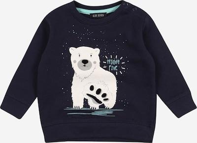 BLUE SEVEN Sweater majica u tamno plava / bijela, Pregled proizvoda