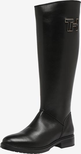 TOMMY HILFIGER Stiefel 'ESSENTIAL LEATHER LONGBOOT' in schwarz, Produktansicht