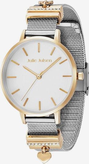 Julie Julsen Uhr 'Heart Caramel' in gold / silber / weiß, Produktansicht