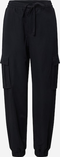 Urban Classics Pantalon cargo en noir, Vue avec produit