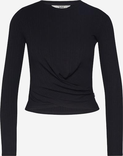 Lee Majica | črna barva, Prikaz izdelka