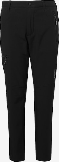 ICEPEAK Softshellhose 'Kibler' in schwarz, Produktansicht