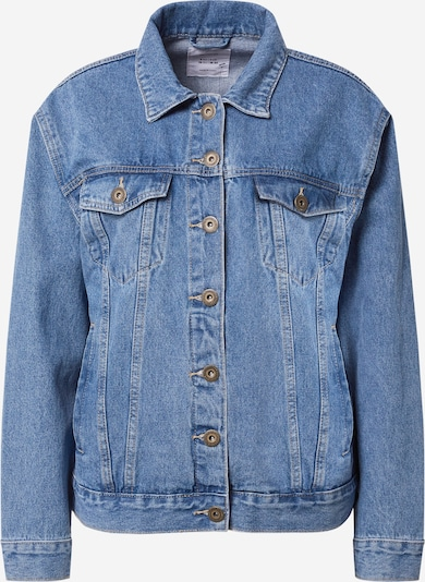 Cotton On Jacke 'NOT YOUR BOYFRIENDS' in blue denim, Produktansicht