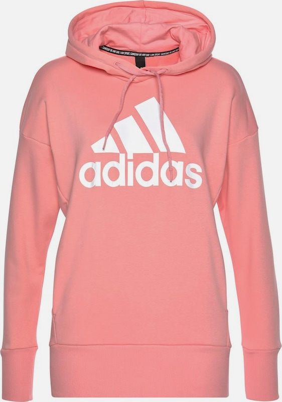 ADIDAS PERFORMANCE Sportief sweatshirt in de kleur Rosé / Wit, Productweergave
