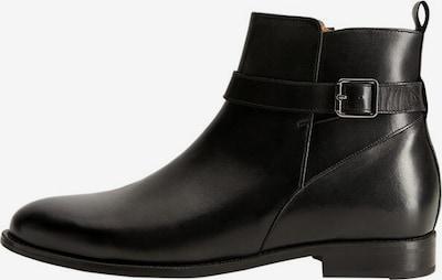 MANGO MAN Stiefeletten 'buckle' in schwarz, Produktansicht