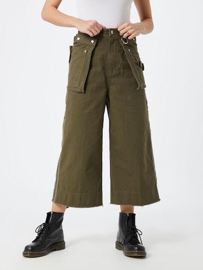 DIESEL Hose 'P-RAEY' in khaki, Modelansicht