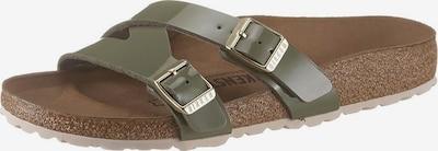 BIRKENSTOCK Pantofle 'Yao' - khaki, Produkt
