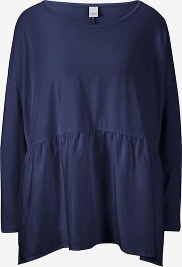 Tricou heine pe albastru noapte, Vizualizare produs