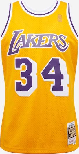 Mitchell & Ness T-Shirt 'LA LAKERS - NBA SWINGMAN' en jaune / violet, Vue avec produit