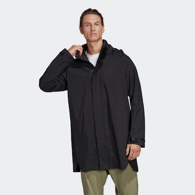 ADIDAS PERFORMANCE Sportska jakna u crna: Prednji pogled