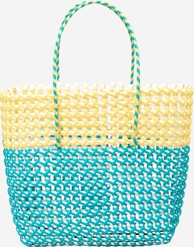 EDITED Torba shopper 'Yva' w kolorze żółty / zielonym, Podgląd produktu