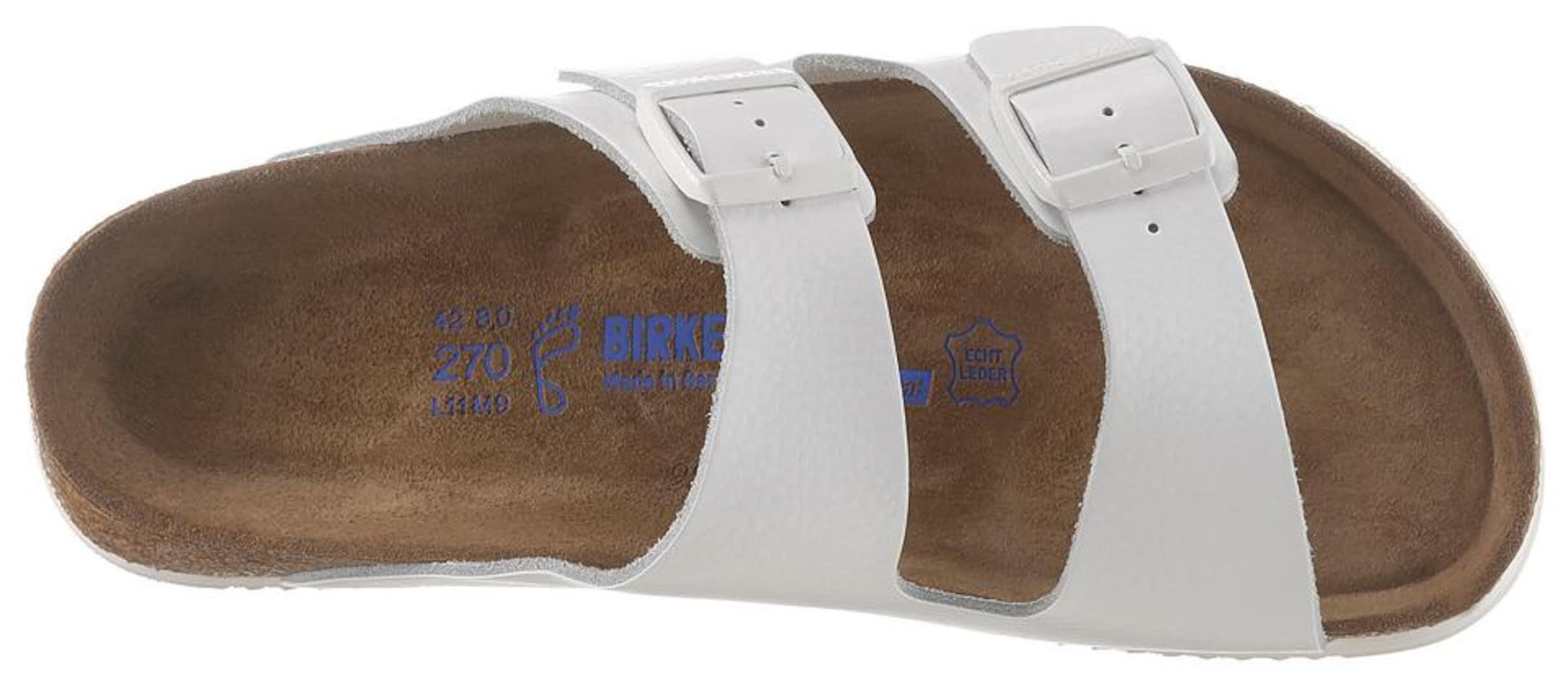 Birkenstock In Weiß Pantolette Pantolette Weiß Weiß Pantolette In In Birkenstock In Birkenstock Pantolette Birkenstock v80mNnw