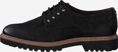 TAMARIS Schnürschuhe in schwarz, Produktansicht