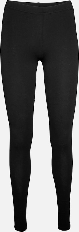 PIECES Leggings aus Jersey 'Edita' in schwarz, Produktansicht