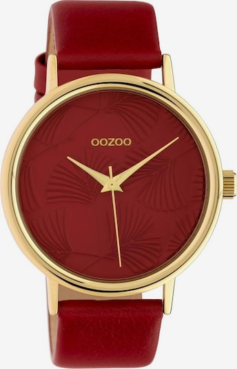 OOZOO Uhr 'C10393' in merlot, Produktansicht