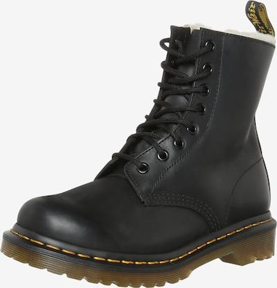 Dr. Martens Boots 'DMSerena - 8 Eye Boot' in schwarz: Frontalansicht