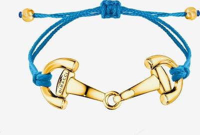 Dimacci Armband 'Pony' in blau / gold, Produktansicht