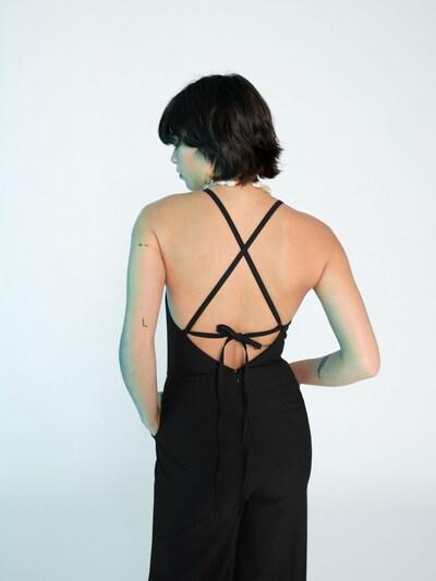 EDITED Kombinezon 'Kate' w kolorze czarnym: Widok od tyłu