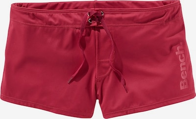 BENCH Boxer-Badehose in rot, Produktansicht