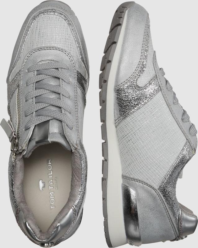 TOM TAILOR Sneaker im Metallic-Look