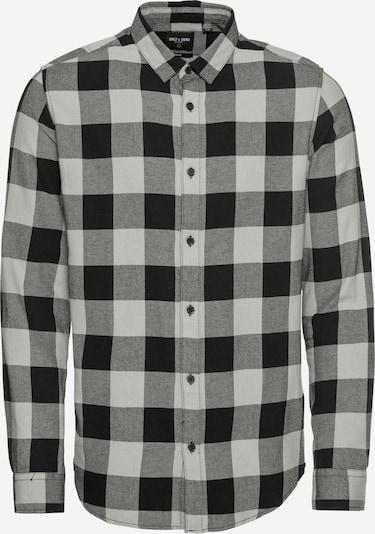 Only & Sons Košile 'GUDMUND' - šedá / černá, Produkt