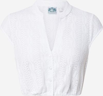 HAMMERSCHMID Klederdracht blouse 'Heidi' in de kleur Wit, Productweergave