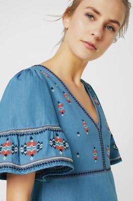 1e3305ccac3 Pepe Jeans Jurk 'URSULA' in Lichtblauw [10CeSK0809007] - €30.52 :
