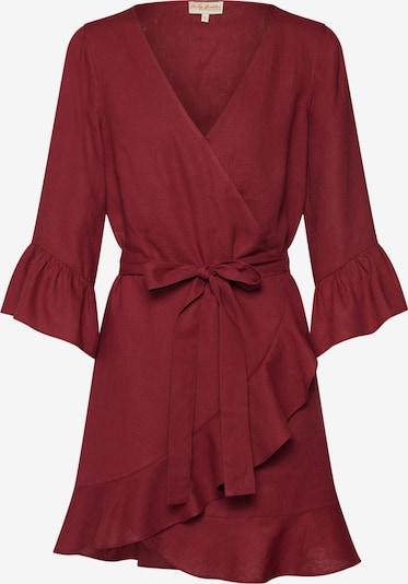 Funky Buddha Obleka | burgund barva, Prikaz izdelka